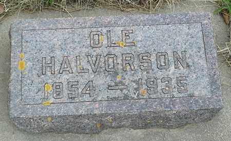 HALVERSON, OLE - Grant County, South Dakota   OLE HALVERSON - South Dakota Gravestone Photos