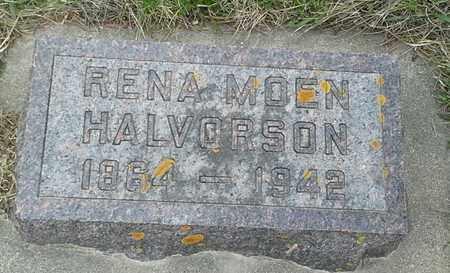 HALVORSON, RENA MOEN - Grant County, South Dakota | RENA MOEN HALVORSON - South Dakota Gravestone Photos