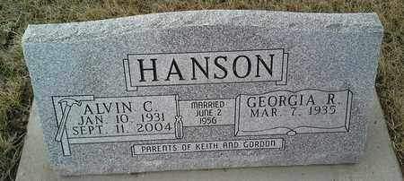 HANSON, ALVIN C - Grant County, South Dakota | ALVIN C HANSON - South Dakota Gravestone Photos
