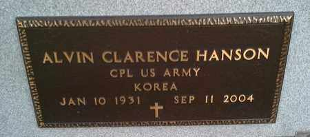 "HANSON, ALVIN CLARENCE ""MILITARY"" - Grant County, South Dakota | ALVIN CLARENCE ""MILITARY"" HANSON - South Dakota Gravestone Photos"