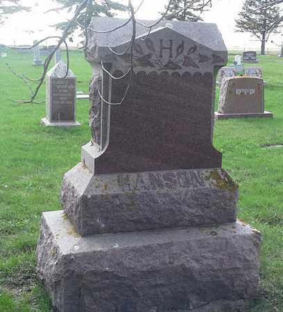 HANSON, FAMILY STONE - Grant County, South Dakota | FAMILY STONE HANSON - South Dakota Gravestone Photos