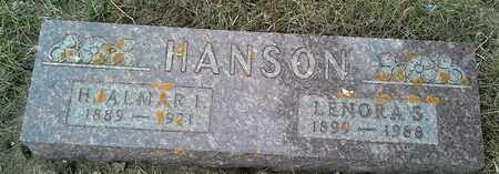HANSON, LENORA S - Grant County, South Dakota | LENORA S HANSON - South Dakota Gravestone Photos