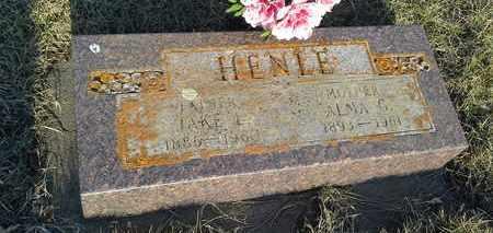 HENLE, JAKE L - Grant County, South Dakota | JAKE L HENLE - South Dakota Gravestone Photos