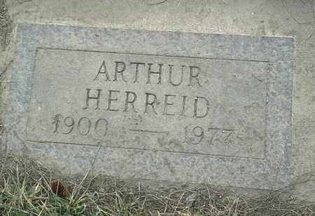 HERREID, ARTHUR - Grant County, South Dakota   ARTHUR HERREID - South Dakota Gravestone Photos