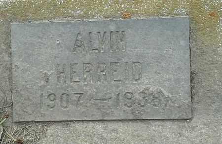 HERREID, ALVIN - Grant County, South Dakota | ALVIN HERREID - South Dakota Gravestone Photos
