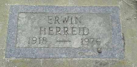 HERREID, ERWIN - Grant County, South Dakota | ERWIN HERREID - South Dakota Gravestone Photos