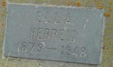 HERREID, ELLA - Grant County, South Dakota | ELLA HERREID - South Dakota Gravestone Photos