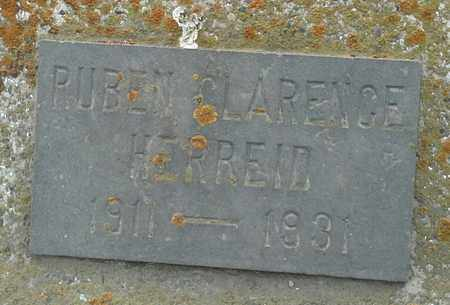 HERREID, RUBEN CLARENCE - Grant County, South Dakota | RUBEN CLARENCE HERREID - South Dakota Gravestone Photos