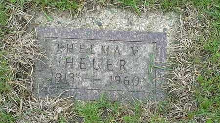 HEUER, THELMA V - Grant County, South Dakota | THELMA V HEUER - South Dakota Gravestone Photos