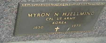 """HJELLMING, MYRON N """"MILITARY"""" - Grant County, South Dakota   MYRON N """"MILITARY"""" HJELLMING - South Dakota Gravestone Photos"""
