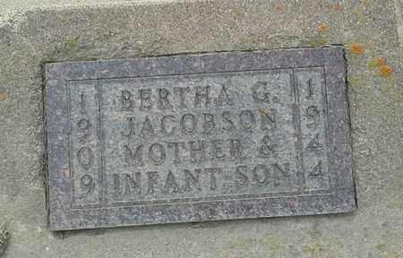 JACOBSEN, INFANT SON - Grant County, South Dakota | INFANT SON JACOBSEN - South Dakota Gravestone Photos