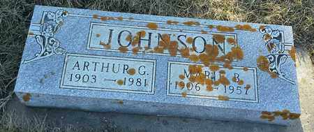 JOHNSON, ARTHUR G - Grant County, South Dakota | ARTHUR G JOHNSON - South Dakota Gravestone Photos