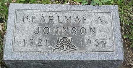 JOHNSON, PEARLMAE A - Grant County, South Dakota | PEARLMAE A JOHNSON - South Dakota Gravestone Photos