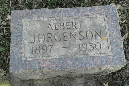 JORGENSON, ALBERT - Grant County, South Dakota | ALBERT JORGENSON - South Dakota Gravestone Photos