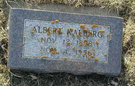 KALBERG, ALBERT - Grant County, South Dakota   ALBERT KALBERG - South Dakota Gravestone Photos