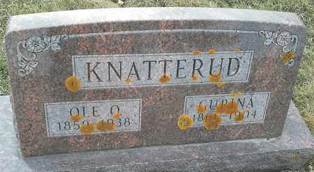 KNATTERUD, OLE O - Grant County, South Dakota | OLE O KNATTERUD - South Dakota Gravestone Photos
