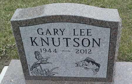 KNUTSON, GARY LEE - Grant County, South Dakota | GARY LEE KNUTSON - South Dakota Gravestone Photos