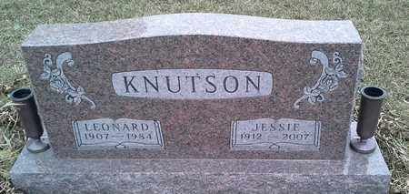KNUTSON, JESSIE - Grant County, South Dakota   JESSIE KNUTSON - South Dakota Gravestone Photos