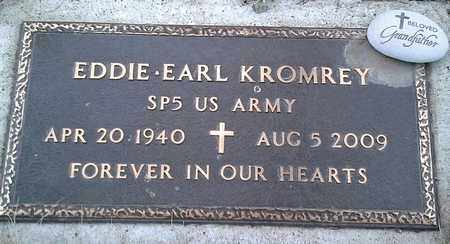 "KROMREY, EDDIE EARL ""MILITARY"" - Grant County, South Dakota 