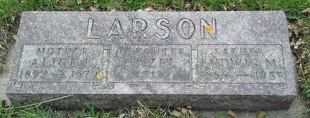 LARSON, HAZEL - Grant County, South Dakota | HAZEL LARSON - South Dakota Gravestone Photos