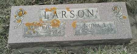LARSON, MAURICE L - Grant County, South Dakota | MAURICE L LARSON - South Dakota Gravestone Photos