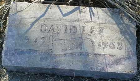 LEE, DAVID - Grant County, South Dakota | DAVID LEE - South Dakota Gravestone Photos