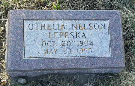 NELSON LEPESKA, OTHELIA - Grant County, South Dakota | OTHELIA NELSON LEPESKA - South Dakota Gravestone Photos