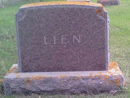 LIEN, FAMILY STONE - Grant County, South Dakota | FAMILY STONE LIEN - South Dakota Gravestone Photos