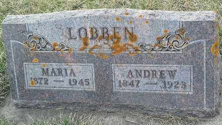 LOBBEN, MARIA - Grant County, South Dakota | MARIA LOBBEN - South Dakota Gravestone Photos