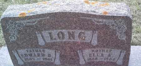 LONG, EDWARD D - Grant County, South Dakota   EDWARD D LONG - South Dakota Gravestone Photos