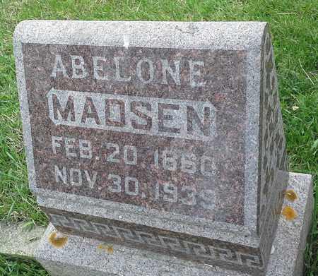 MADSEN, ABELONE - Grant County, South Dakota | ABELONE MADSEN - South Dakota Gravestone Photos