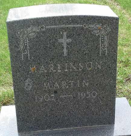 MARTIN, MARTINSON - Grant County, South Dakota   MARTINSON MARTIN - South Dakota Gravestone Photos