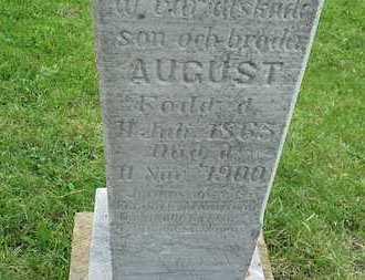 MELANDER, AUGUST - Grant County, South Dakota   AUGUST MELANDER - South Dakota Gravestone Photos