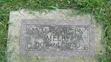 MELBY, LYMAN ALLEN - Grant County, South Dakota | LYMAN ALLEN MELBY - South Dakota Gravestone Photos