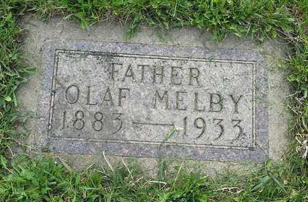 MELBY, OLAF - Grant County, South Dakota   OLAF MELBY - South Dakota Gravestone Photos
