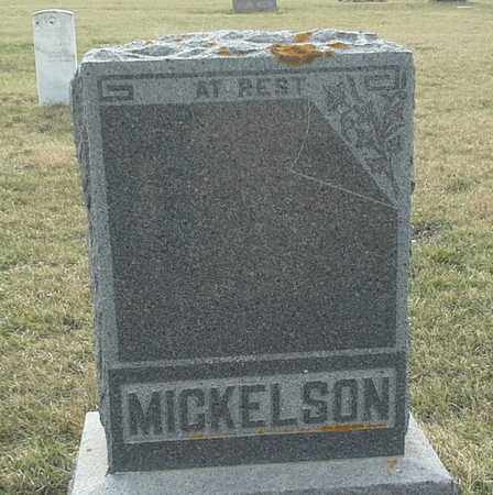 MICKELSON, FAMILY STONE - Grant County, South Dakota   FAMILY STONE MICKELSON - South Dakota Gravestone Photos