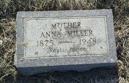 MILLER, ANNA - Grant County, South Dakota | ANNA MILLER - South Dakota Gravestone Photos