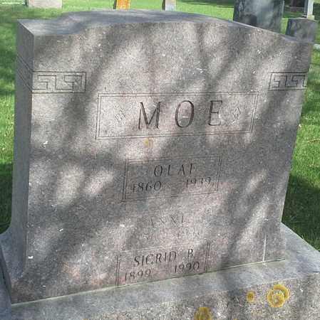 MOE, OLAF - Grant County, South Dakota | OLAF MOE - South Dakota Gravestone Photos