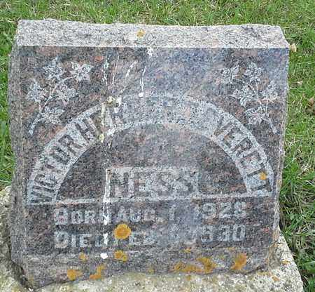NESS, VICTOR HETBERTE VERETT - Grant County, South Dakota | VICTOR HETBERTE VERETT NESS - South Dakota Gravestone Photos