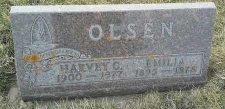 OLSEN, HARVEY C - Grant County, South Dakota | HARVEY C OLSEN - South Dakota Gravestone Photos