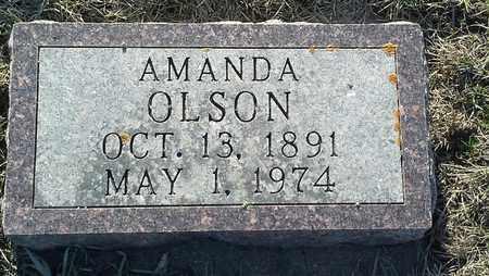 OLSON, AMANDA - Grant County, South Dakota | AMANDA OLSON - South Dakota Gravestone Photos