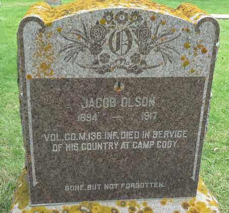 OLSON, JACOB - Grant County, South Dakota | JACOB OLSON - South Dakota Gravestone Photos