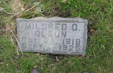 OLSON, MILDRED O - Grant County, South Dakota | MILDRED O OLSON - South Dakota Gravestone Photos