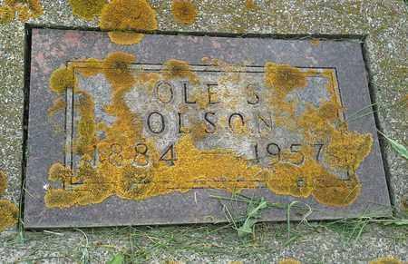 OLSON, OLE S - Grant County, South Dakota | OLE S OLSON - South Dakota Gravestone Photos