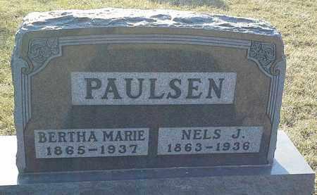 PAULSEN, BERTHA MARIE - Grant County, South Dakota   BERTHA MARIE PAULSEN - South Dakota Gravestone Photos
