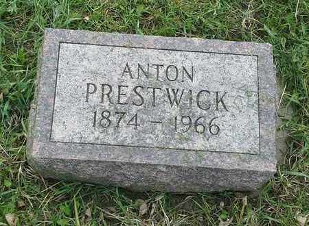 PRESTWICK, ANTON - Grant County, South Dakota | ANTON PRESTWICK - South Dakota Gravestone Photos