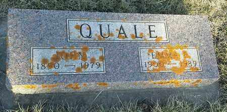 QUALE, EMMA E - Grant County, South Dakota | EMMA E QUALE - South Dakota Gravestone Photos