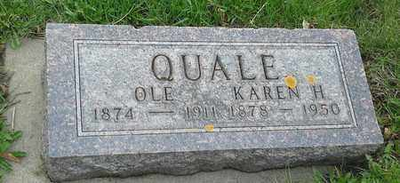 QUALE, OLE - Grant County, South Dakota | OLE QUALE - South Dakota Gravestone Photos