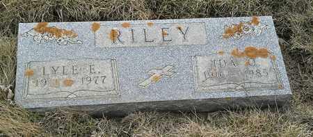 RILEY, LYLE E - Grant County, South Dakota | LYLE E RILEY - South Dakota Gravestone Photos