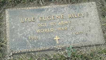 """RILEY, LYLE EUGENE """"MILITARY"""" - Grant County, South Dakota 